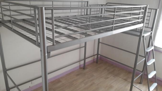 lit mezanine. Black Bedroom Furniture Sets. Home Design Ideas