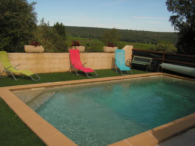 Villa avec piscine centre var for Prix piscine carrelee