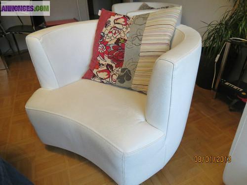 canap 2 fauteuils roche bobois. Black Bedroom Furniture Sets. Home Design Ideas