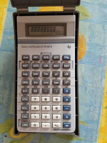 Calculatrice programmable Texas Instruments  TI57 II