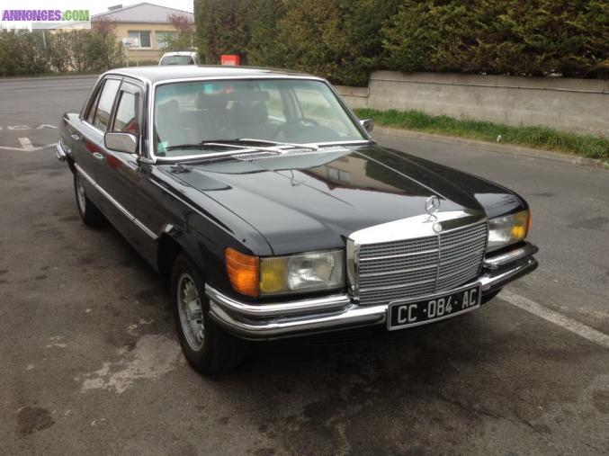 Mercedes 280 se w116 for Se geolocaliser