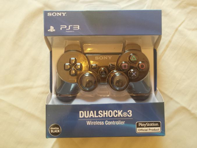 manette sony ps3 dualshock 3 officielle neuve. Black Bedroom Furniture Sets. Home Design Ideas