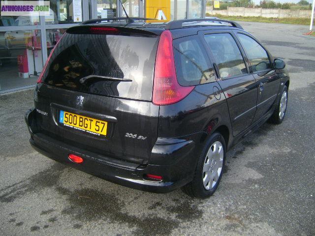 Peugeot 206 sw exterieur for Retroviseur exterieur peugeot 206