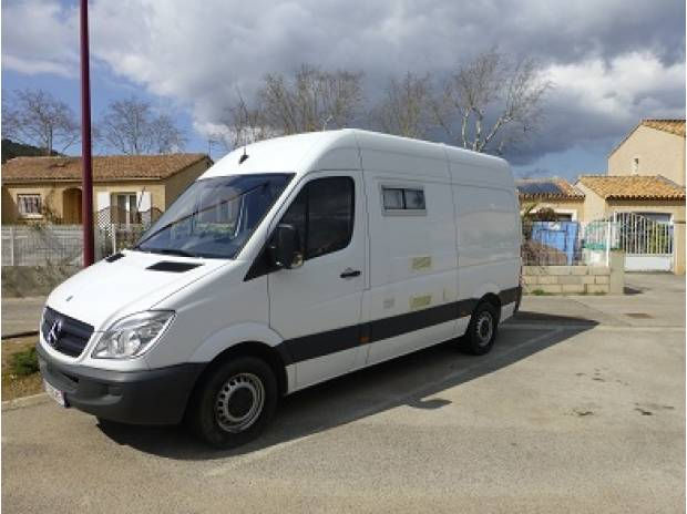 mercedes sprinter 313cdi 37s fourgon am nag camping car. Black Bedroom Furniture Sets. Home Design Ideas