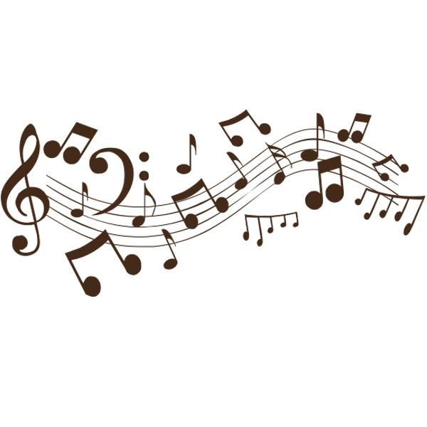 Decoration murale note de musique donne cours de chant for Colonne de salle de bain trackid sp 006