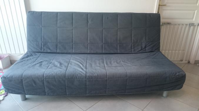 canap convertible 3 places beddinge. Black Bedroom Furniture Sets. Home Design Ideas