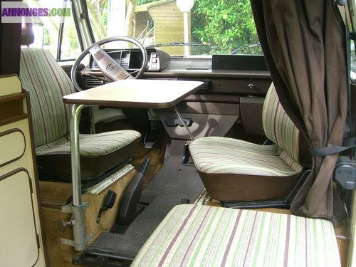 CAMPING CAR VW TRANSPORTEUR T3 WESTFALIA JOKER 3