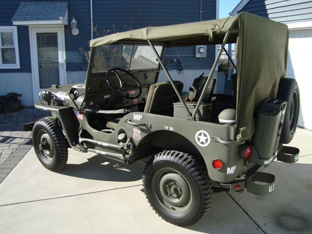 jeep willys military police army us occasion