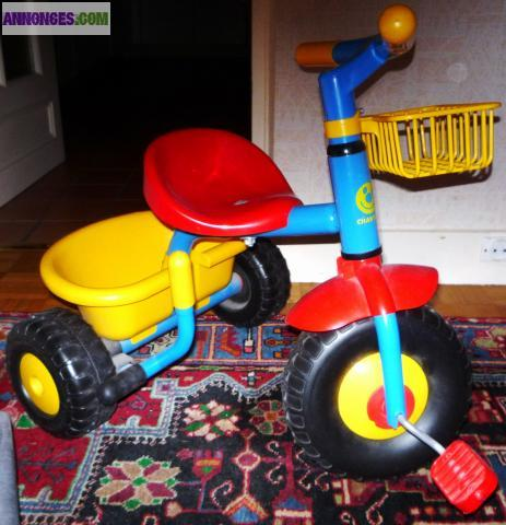 Tricycle charton