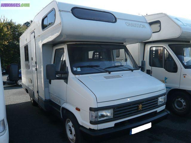 camping car peugeot j5 chausson accapulco. Black Bedroom Furniture Sets. Home Design Ideas