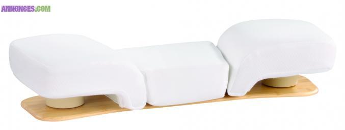 oreiller pour douleur mal de dos. Black Bedroom Furniture Sets. Home Design Ideas
