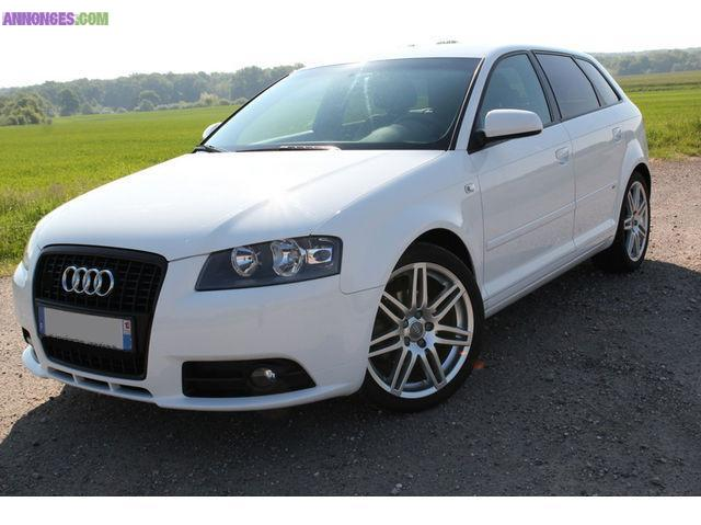 audi a3 ii sportback 2 0 tdi s line 5 portes. Black Bedroom Furniture Sets. Home Design Ideas