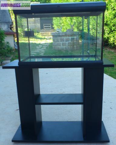Aquarium 60l meuble accessoires for Accessoire aquarium