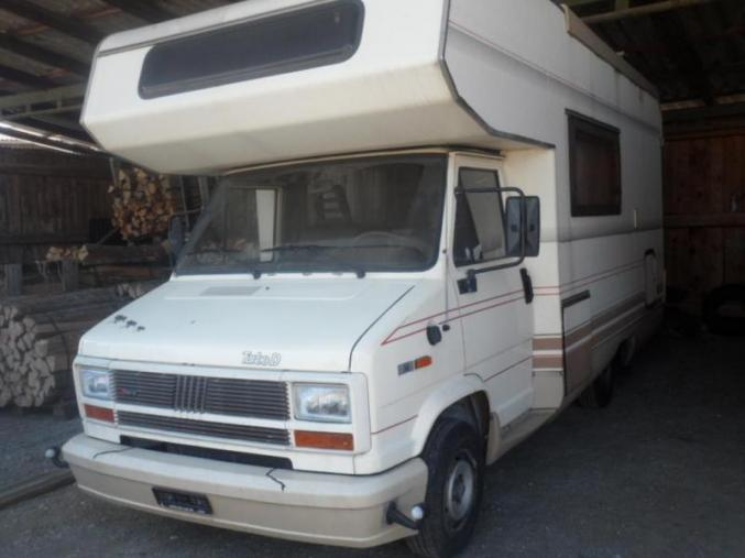 Donne super camping car Dethleffs Fiat Ducato