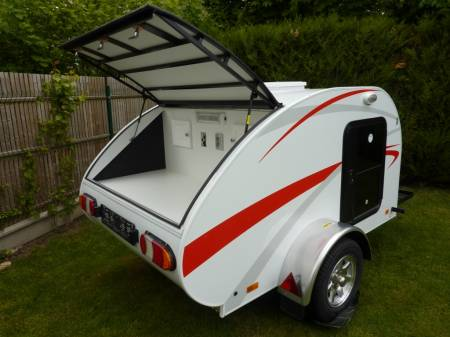 mini caravane teardrop 2 places camp runner mod le
