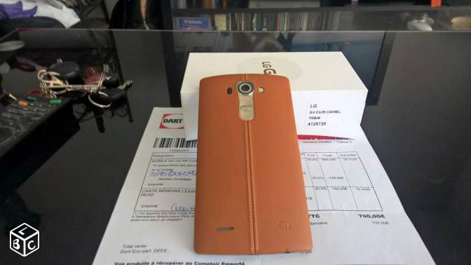 LG G4 32GB NEUF avec facture