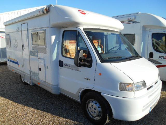 camping car burstner t595 citroen jumper 128. Black Bedroom Furniture Sets. Home Design Ideas