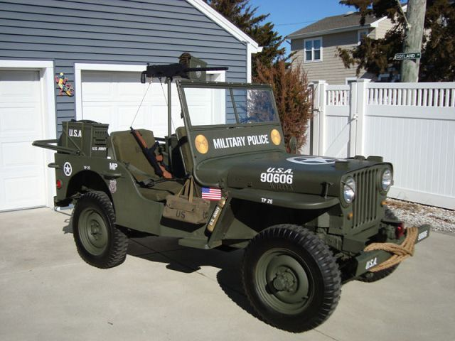 jeep willys military police army us occasion. Black Bedroom Furniture Sets. Home Design Ideas