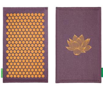 tapis de fakir ou acupression champs de fleur pour maux de dos. Black Bedroom Furniture Sets. Home Design Ideas