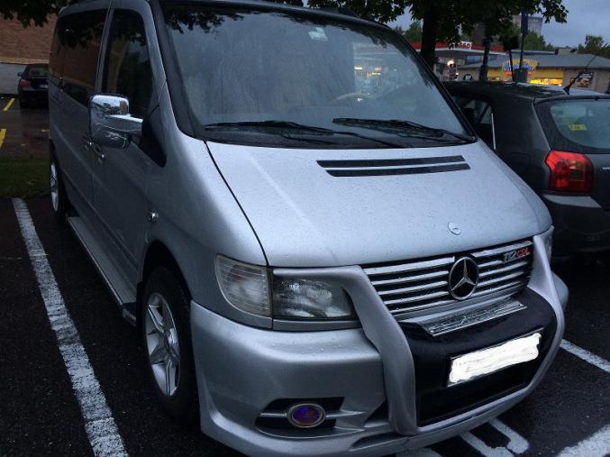 Mercedes vito f 112 cdi for Garage mercedes pau