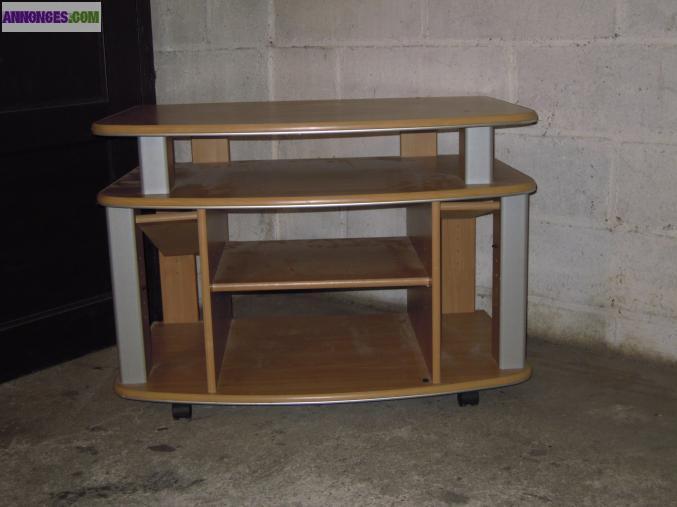 table de tele. Black Bedroom Furniture Sets. Home Design Ideas