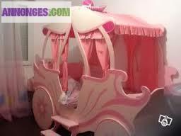 lit fille. Black Bedroom Furniture Sets. Home Design Ideas