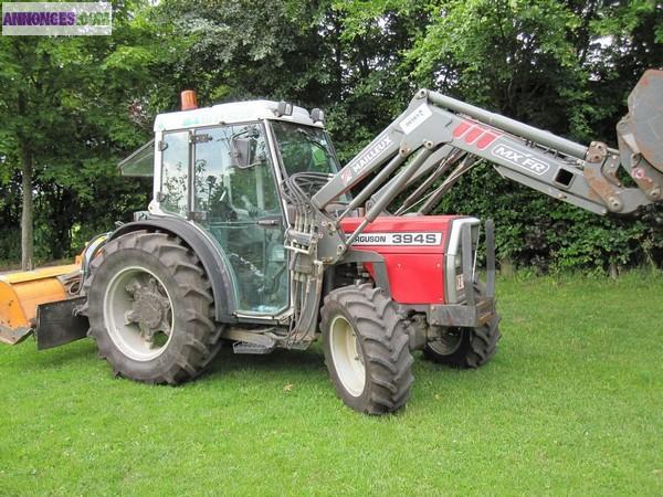 tracteur agricole massey ferguson 394s. Black Bedroom Furniture Sets. Home Design Ideas