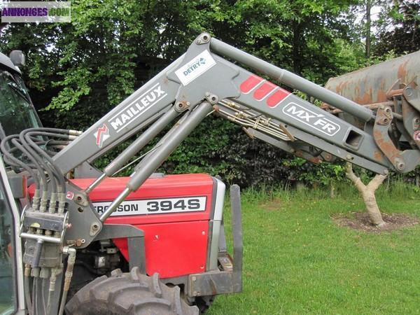 tracteur agricole massey ferguson 394s