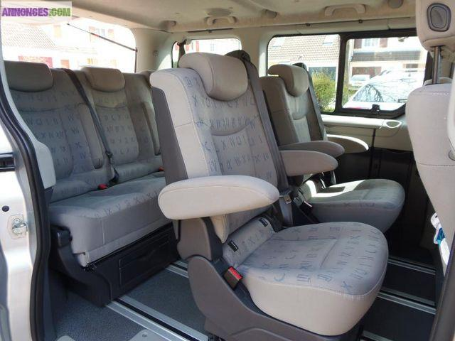 minibus 7 places renault trafic ii generation dci 140. Black Bedroom Furniture Sets. Home Design Ideas