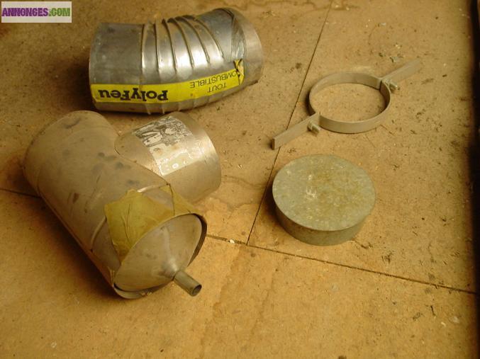 Gaine inox pour cheminee 4m70 en 140 150 euros 3m40 en for Fenetre 135x120