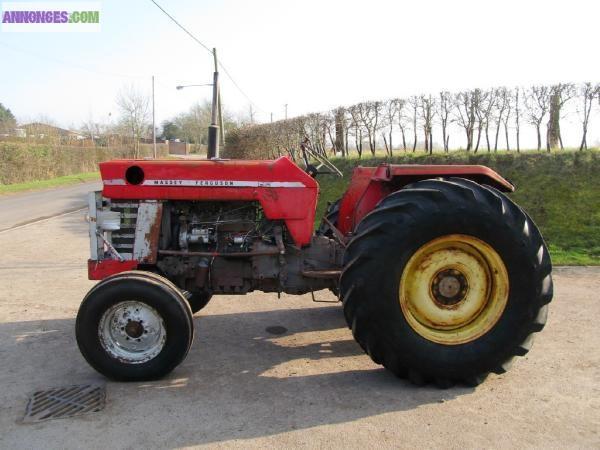tracteur agricole massey ferguson 165 2wd. Black Bedroom Furniture Sets. Home Design Ideas