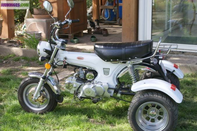 rare moto triporteur dax. Black Bedroom Furniture Sets. Home Design Ideas