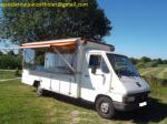 Camion pizza renault master - Miniature