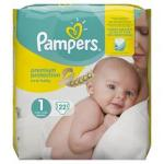Couches pampers taille 1 - Miniature