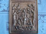 Image religieuse type icone en bronze - Miniature